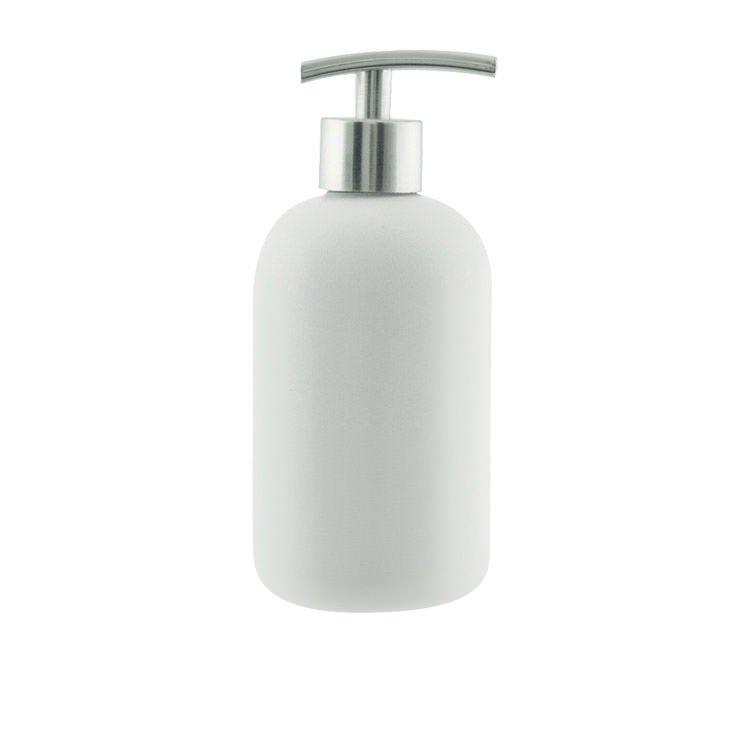 Salt & Pepper Suds Ceramic Soap Dispenser 425ml White