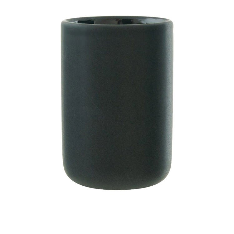 Salt & Pepper Suds Ceramic Tumbler 10cm Black image #2