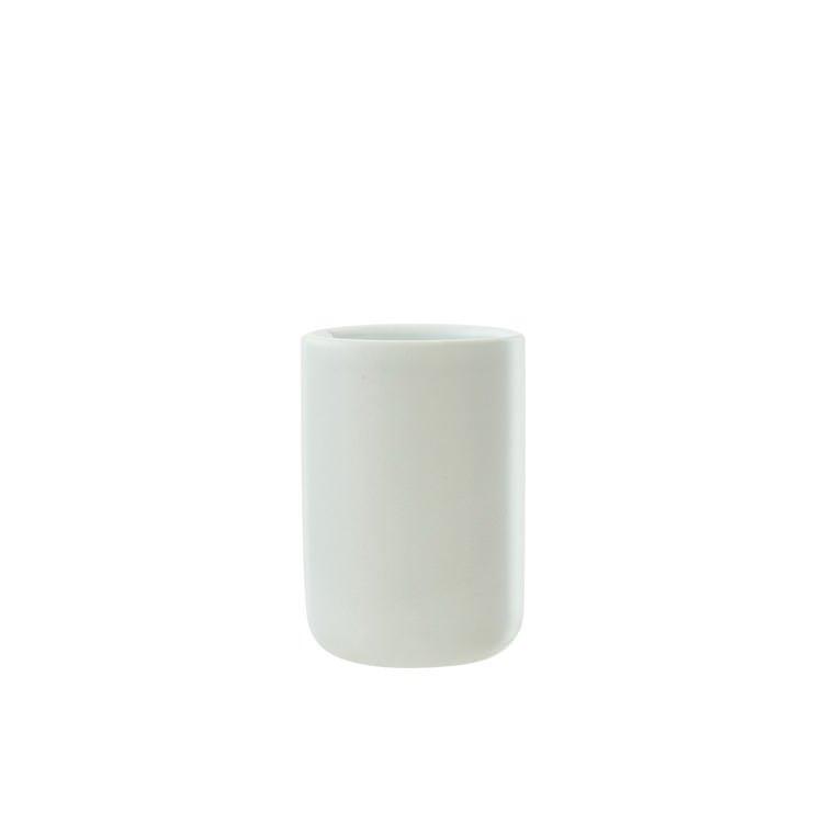 Salt & Pepper Suds Ceramic Tumbler 10cm White