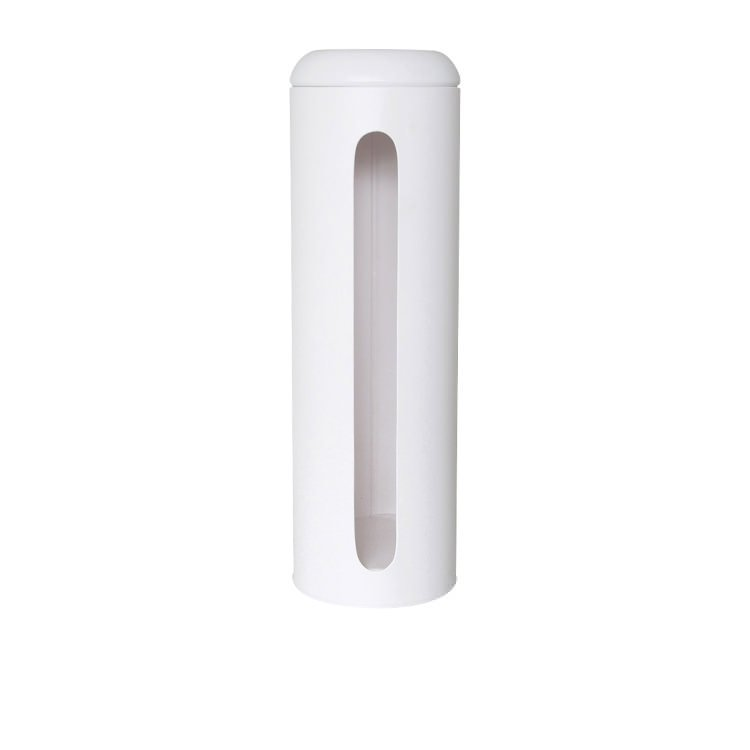 Salt & Pepper Suds Metal Toilet Paper Roll Holder 47x15cm White