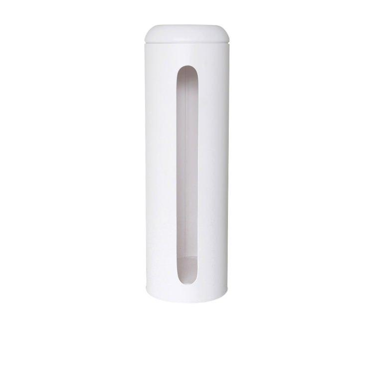 Salt & Pepper Suds Metal Toilet Paper Roll Holder 47x15cm White