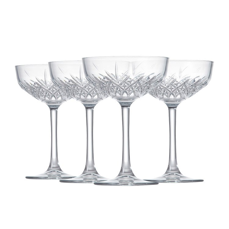 Salt & Pepper Winston Coupe Glass 270ml Set of 4