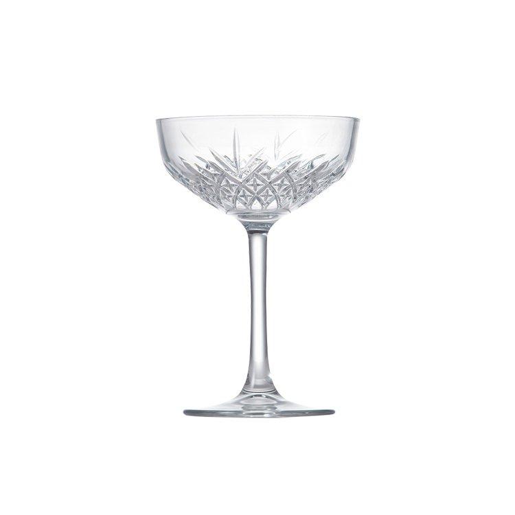 Salt & Pepper Winston Coupe Glass 270ml Set of 4 image #3