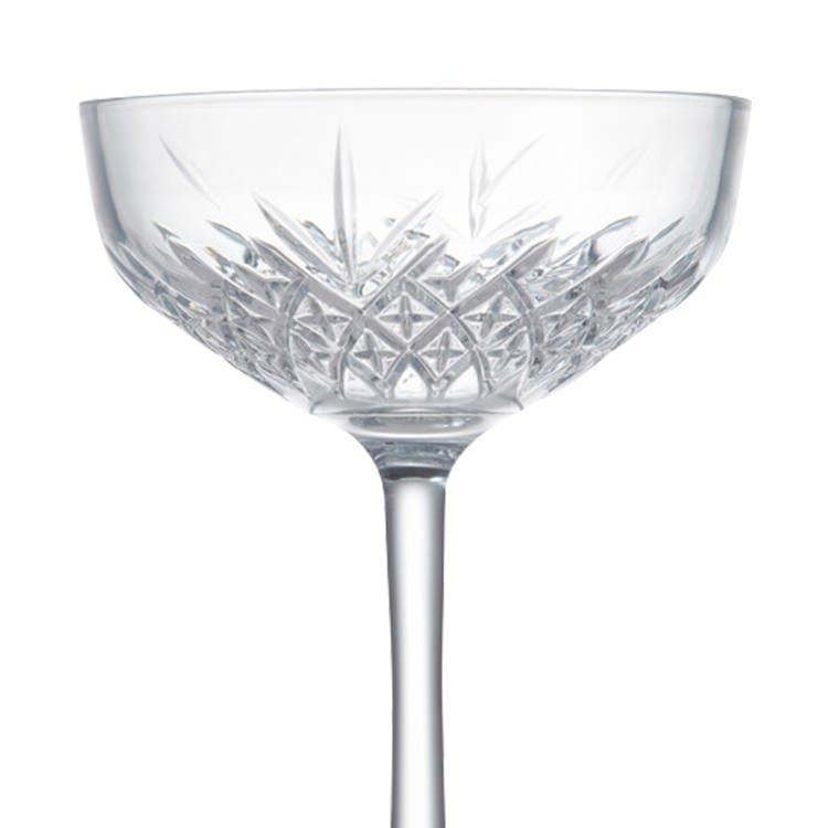 Salt & Pepper Winston Coupe Glass 270ml Set of 4 image #4