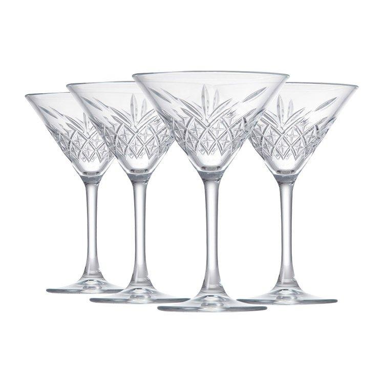 Salt & Pepper Winston Martini Glass 230ml Set of 4