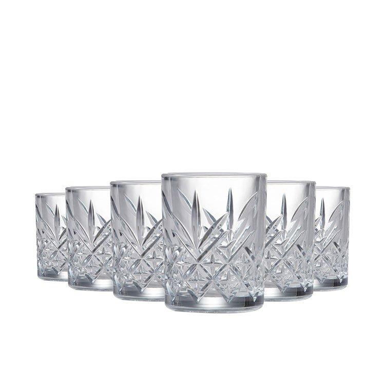 Salt & Pepper Winston Shot Glass 60ml Set of 6