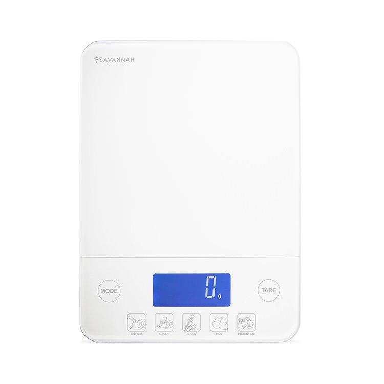 Savannah Prodigy Scale 5kg Pure White