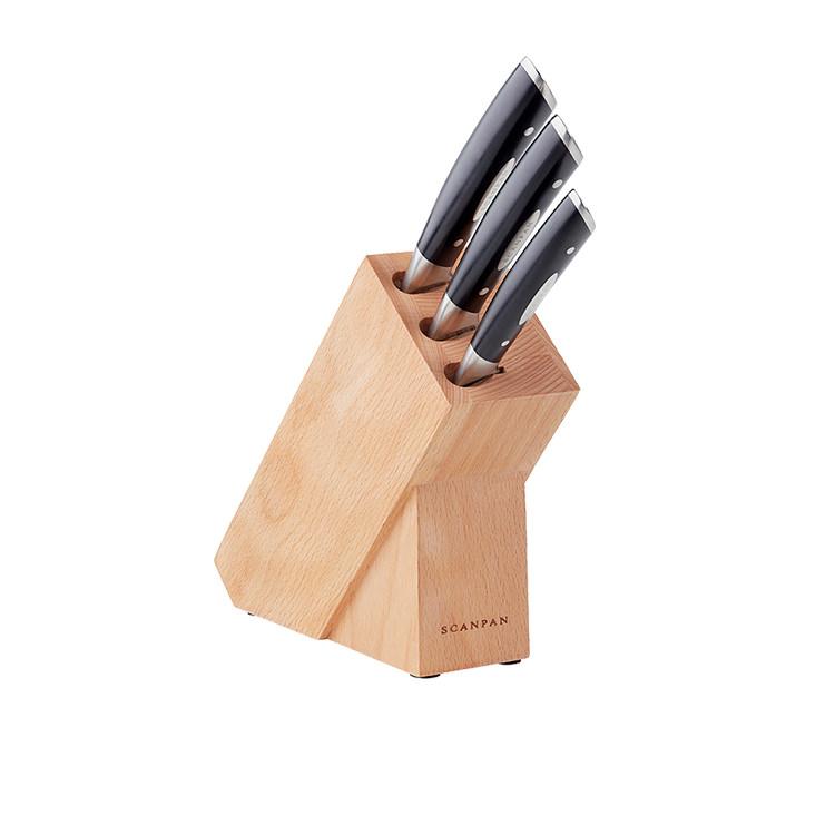 Scanpan Classic 4pc Knife Block Set