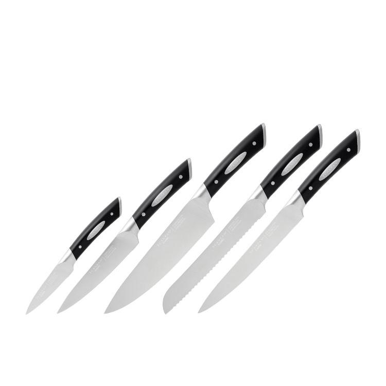 Scanpan Classic 6pc Knife Block Set