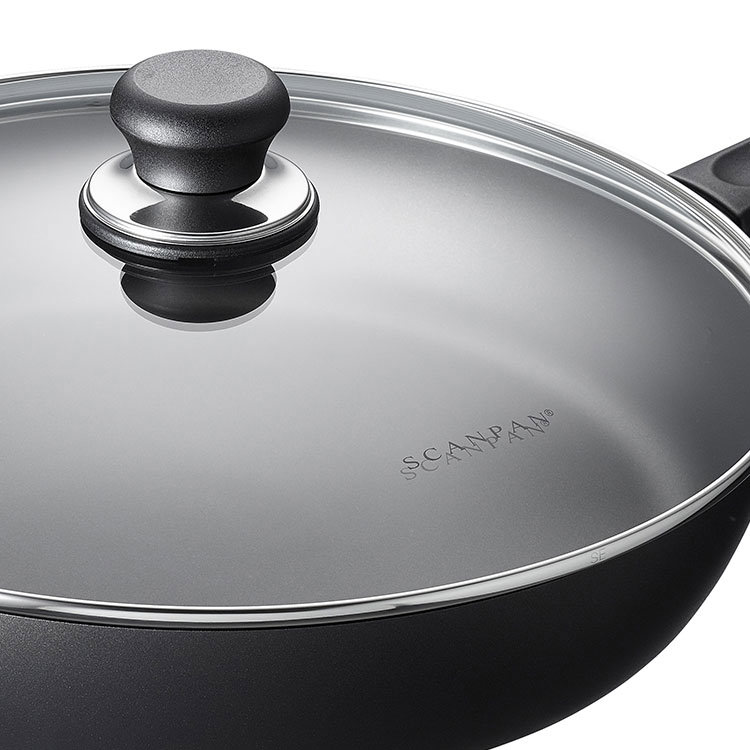 Scanpan Classic Covered Saute Pan 32cm image #2