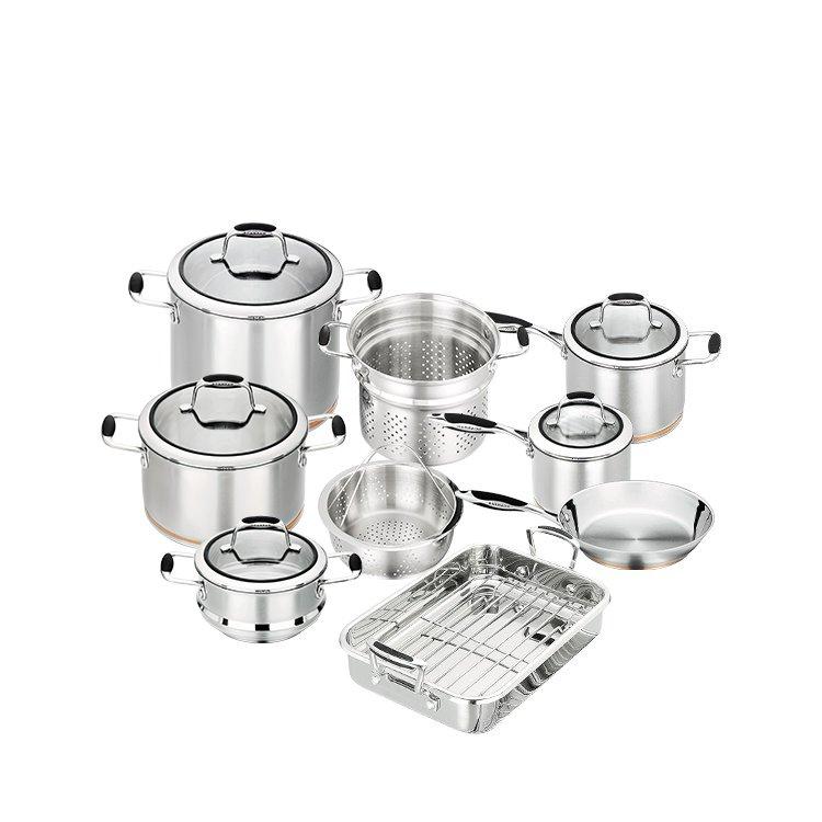 Scanpan Coppernox 9pc Cookware Set