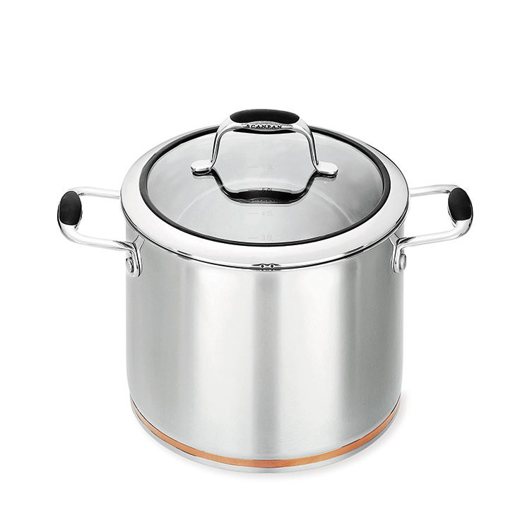 Scanpan Coppernox Covered Stock Pot 7.2L