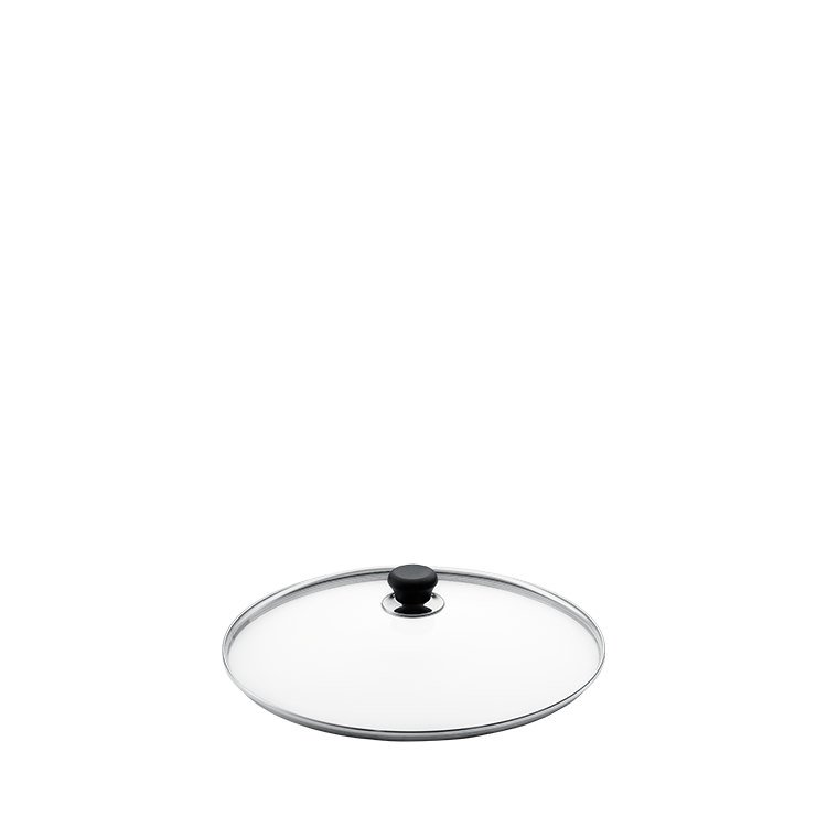 Scanpan Glass Lid with Silver Rim 16cm