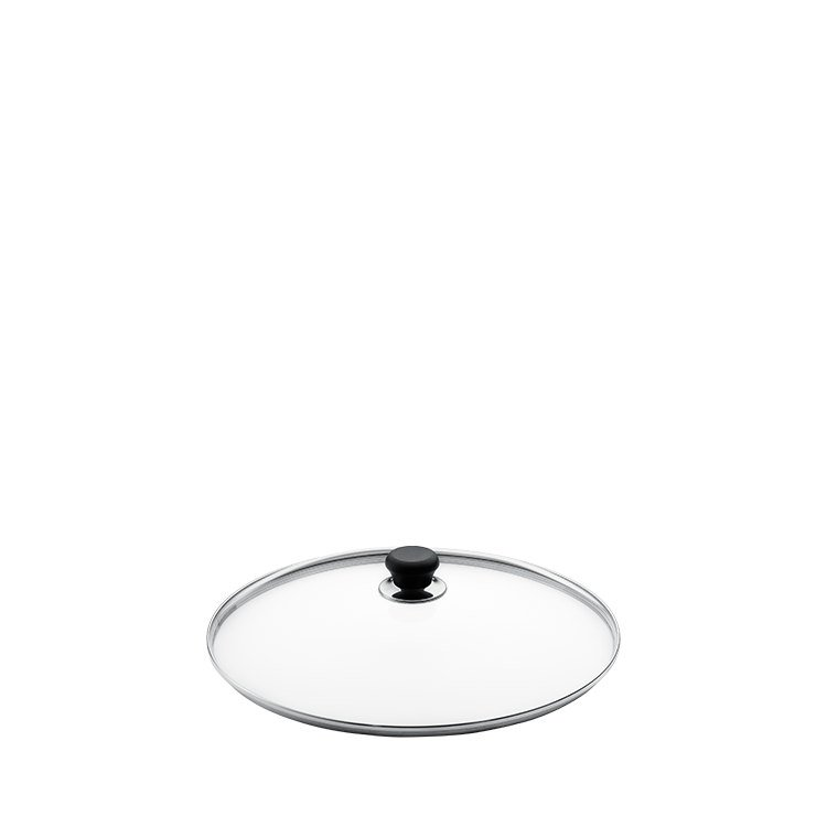 Scanpan Glass Lid with Silver Rim 18cm
