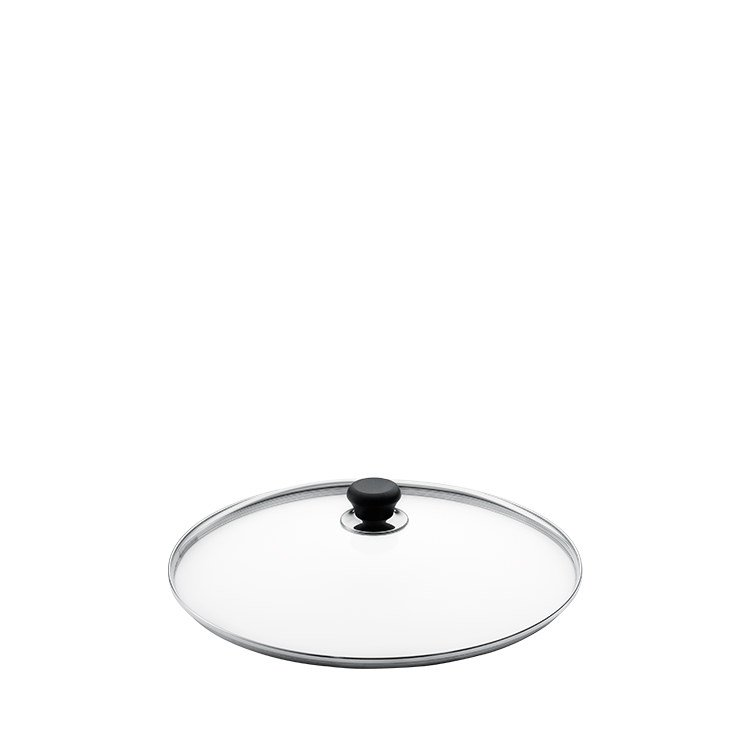 Scanpan Glass Lid with Silver Rim 20cm