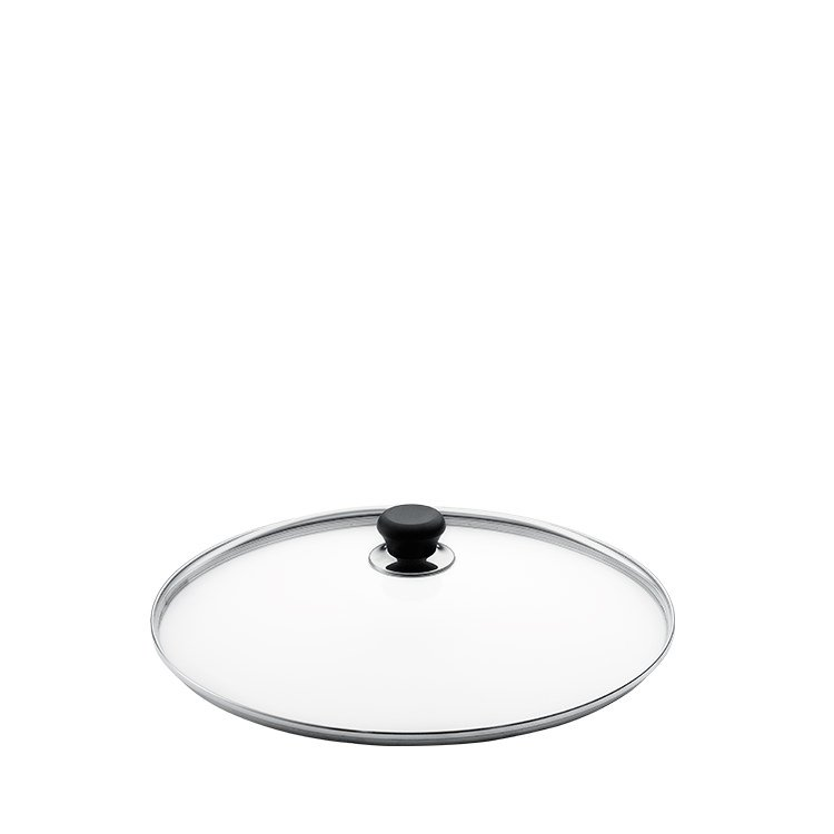 Scanpan Glass Lid with Silver Rim 24cm