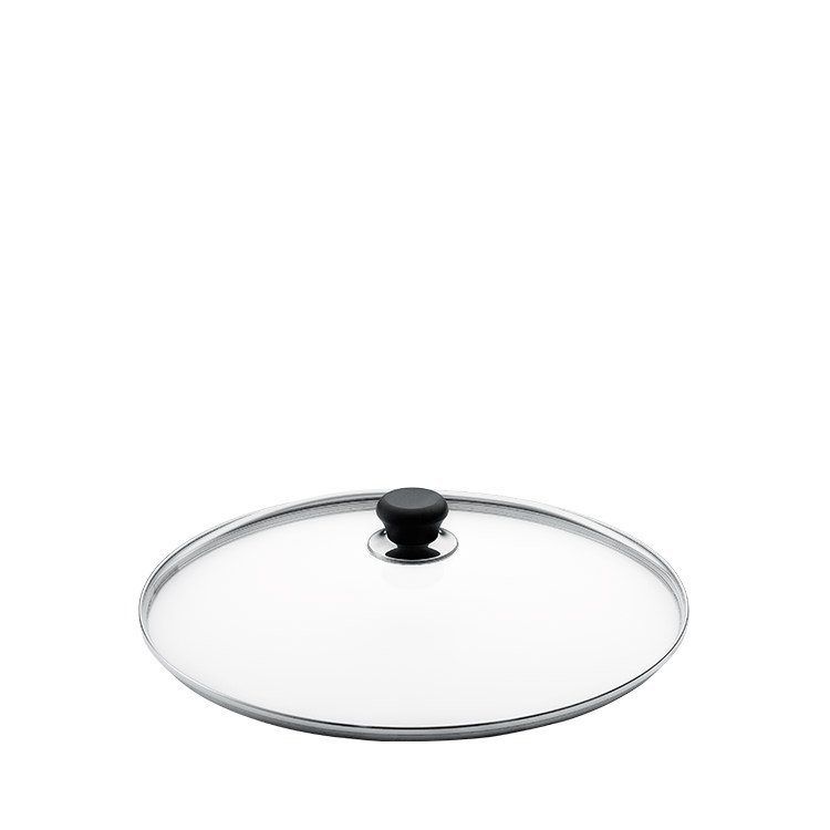 Scanpan Glass Lid with Silver Rim 26cm
