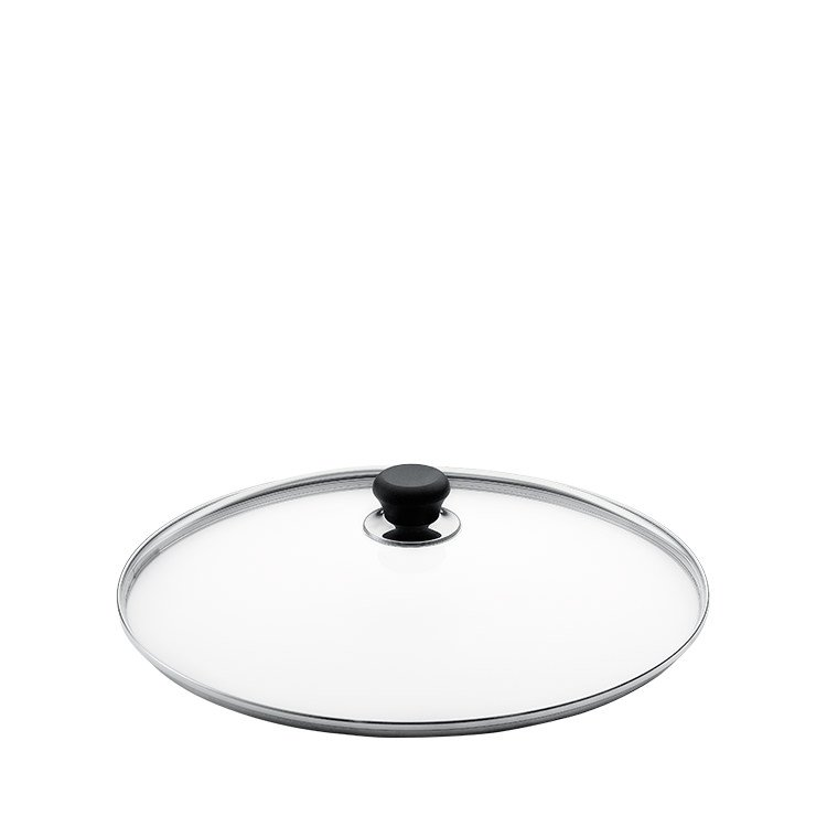 Scanpan Glass Lid with Silver Rim 28cm