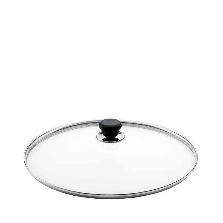 Scanpan Glass Lid with Silver Rim 32cm