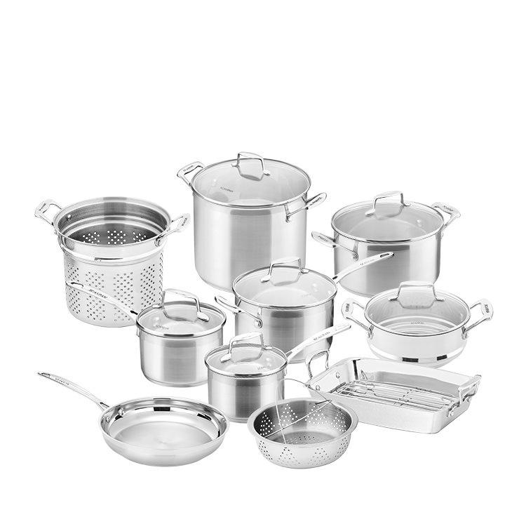 Scanpan Impact 10pc Cookware Set