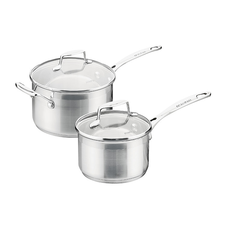 Scanpan Impact 2pc Saucepan Set