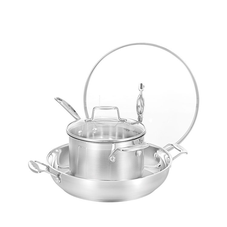 Scanpan Impact 2pc Set w/ 32cm Chef's Pan & 20cm Saucepan