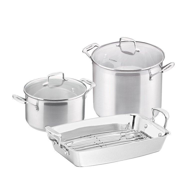 Scanpan Impact 9pc Cookware Set