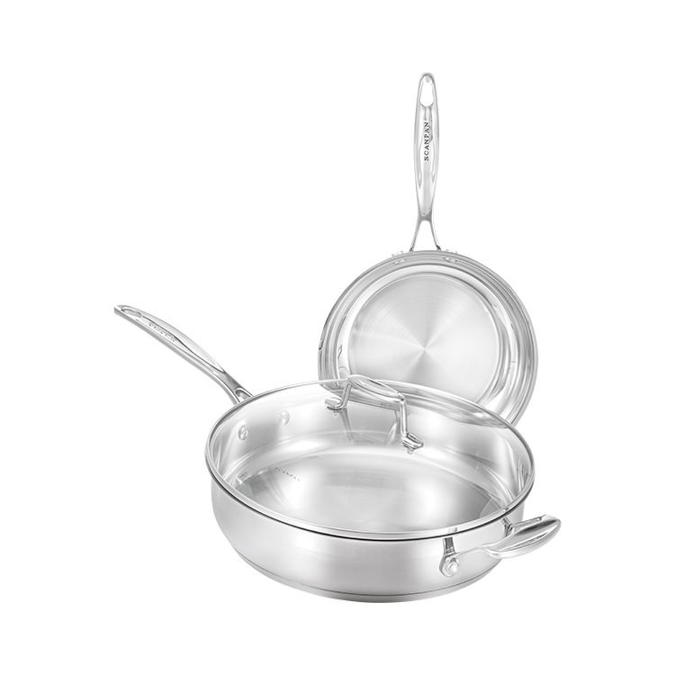 Scanpan Impact 2pc Set w/ 28cm Saute Pan & 20cm Frypan