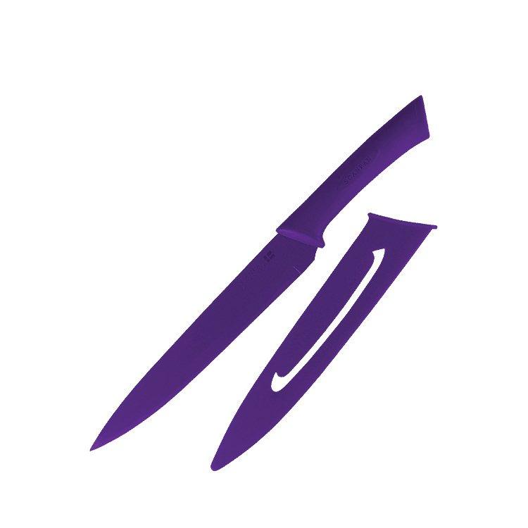 Scanpan Spectrum Carving Knife 20cm Purple
