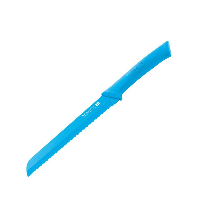 Scanpan Spectrum Soft Touch Bread Knife Blue
