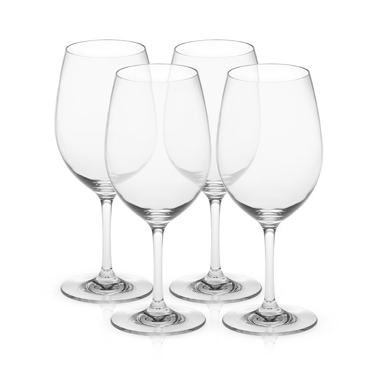 Serroni Fresco Unbreakable Red Wine Glass Set of 4