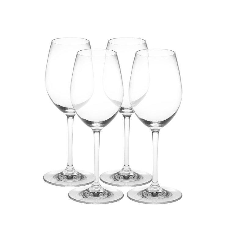Serroni Fresco Unbreakable White Wine Glass Set of 4