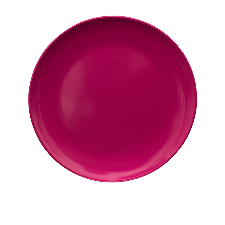 Serroni Melamine Plate 21cm Fuchsia Pink