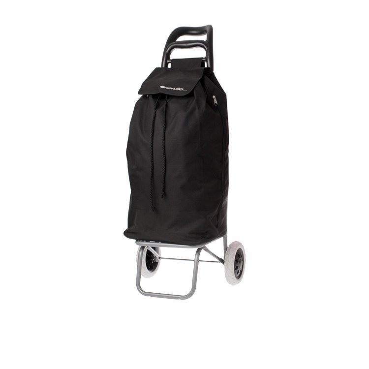 Shop & Go Mode Shopping Trolley Black