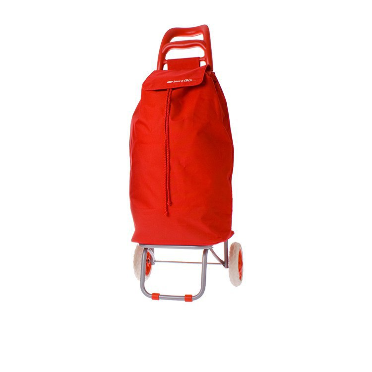 Shop & Go Mode Shopping Trolley Red