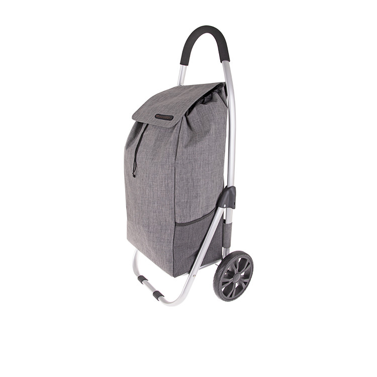 Shop & Go Urban Aluminium Shopping Trolley Charcoal Grey