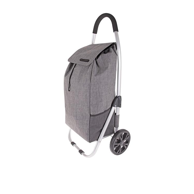 Shop & Go Urban Aluminium Shopping Trolley Charcoal Grey
