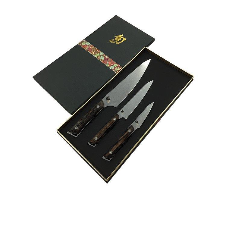 Shun Kanso 3pc Knife Set