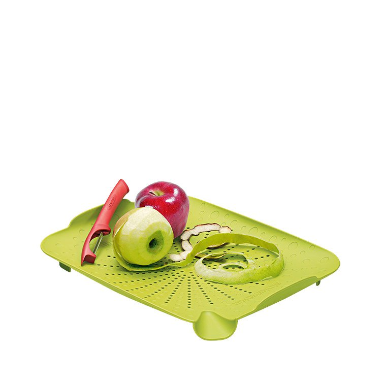 Sinkstation Flat Colander Lime Green