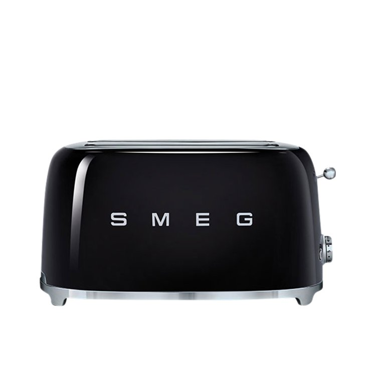 Smeg 4 Slice Toaster Black