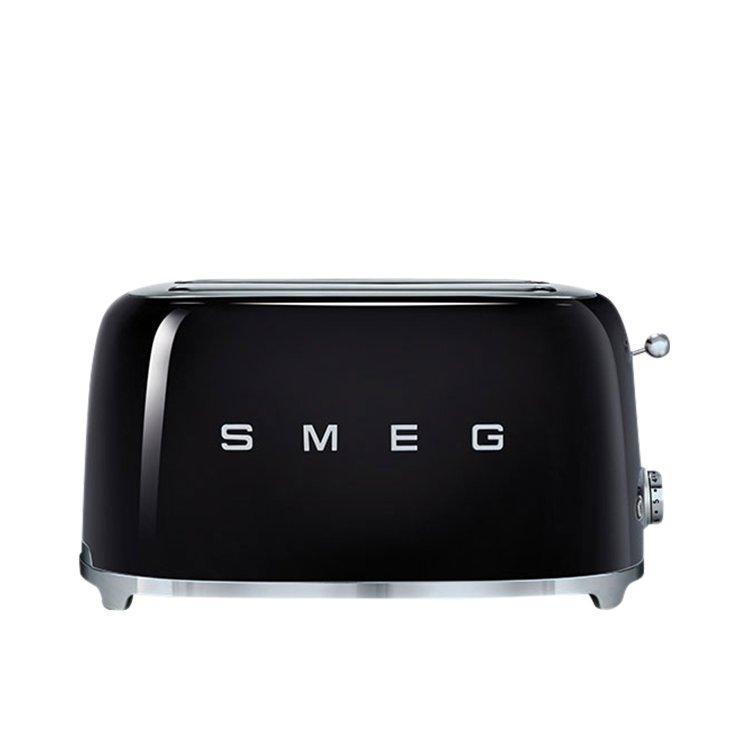 Smeg 4 Slice Toaster Black