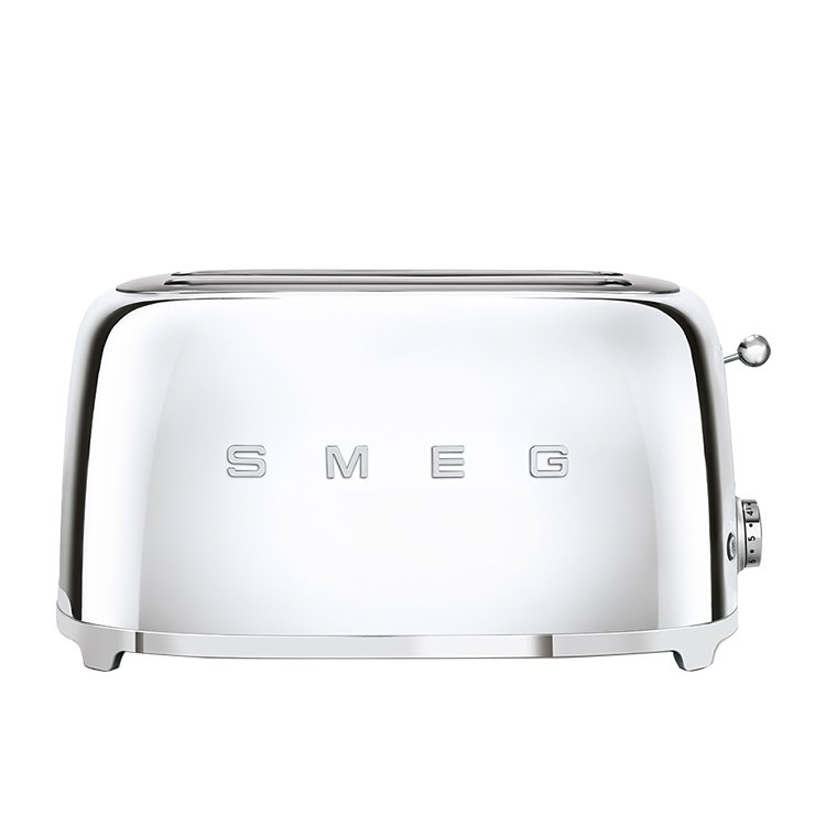 Smeg 4 Slice Toaster Chrome