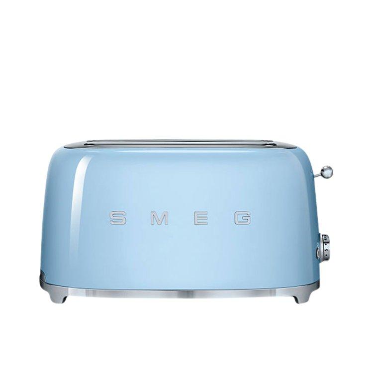 Smeg 50's Retro Style 4 Slice Toaster Pastel Blue