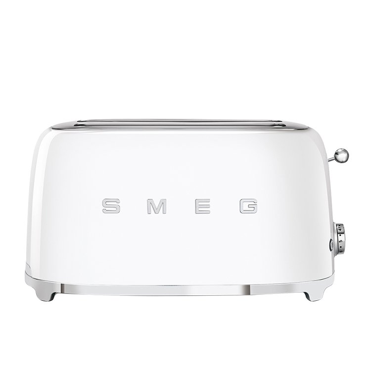 Smeg  4 Slice Toaster White
