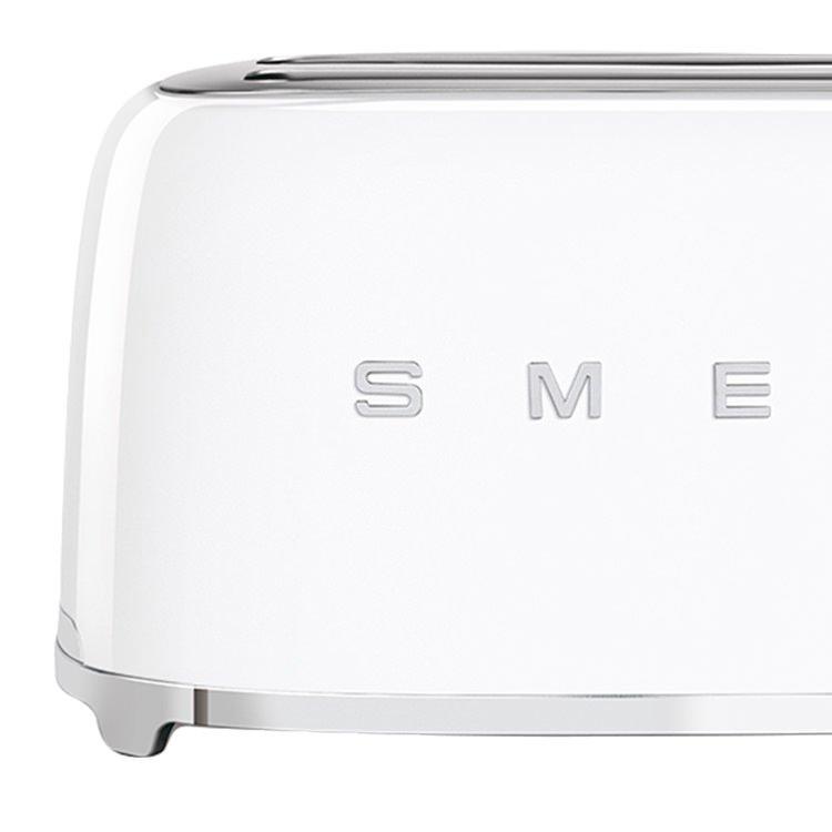 Smeg  4 Slice Toaster White