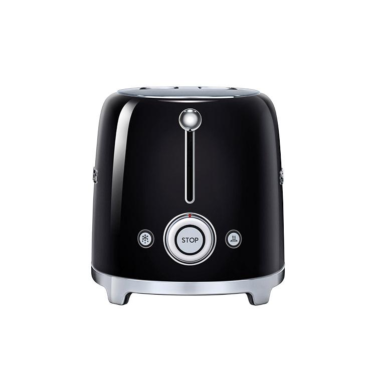 Smeg 50's Retro Style 2 Slice Toaster Black