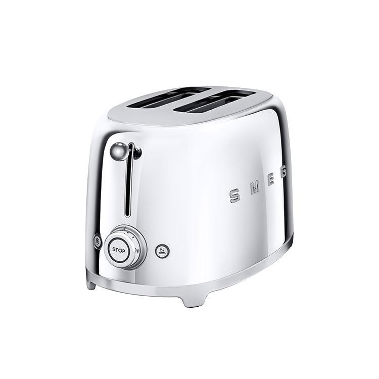 Smeg 50's Retro Style 2 Slice Toaster Chrome
