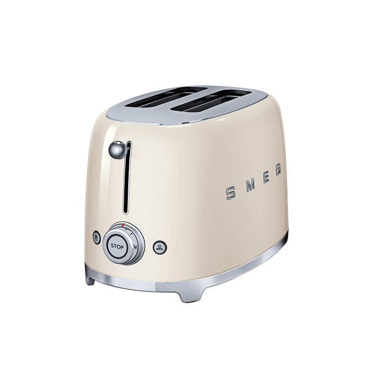 Smeg 50's Retro Style 2 Slice Toaster Cream