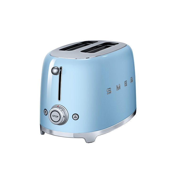 Smeg 2 Slice Toaster Blue Kitchen Warehouse