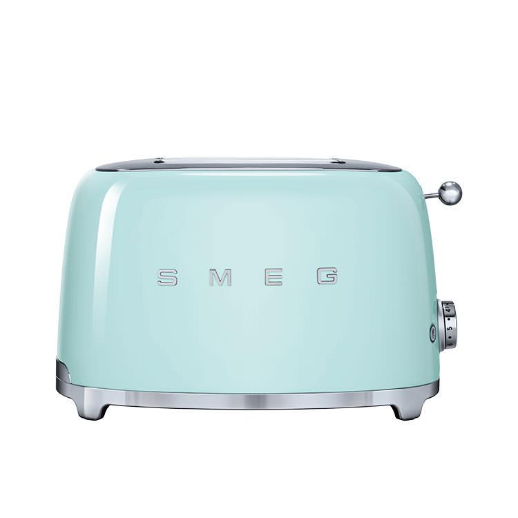 Smeg 50's Retro Style 2 Slice Toaster Pastel Green